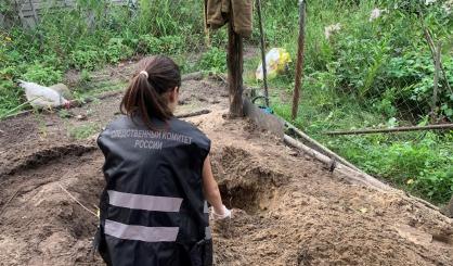 В Брянской области сын убил мать и закопал в саду