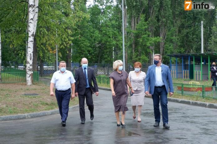 Николай Любимов оценил готовность пристроек к детским садам в Рязани