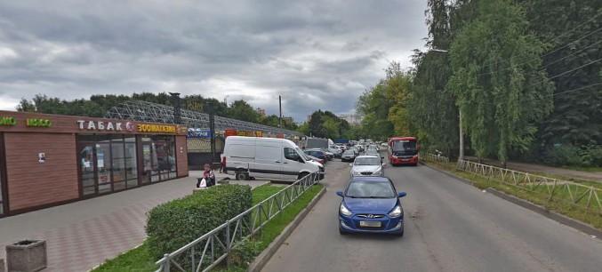 Улица Тимакова в Рязани