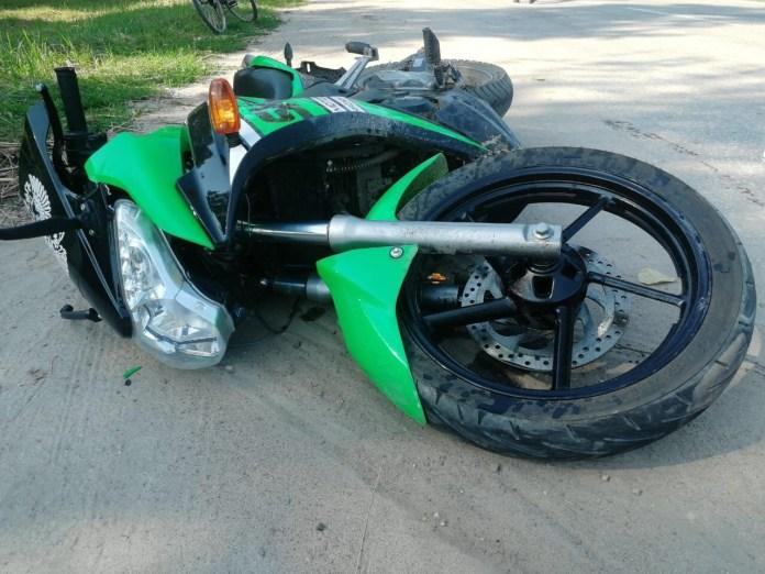 Мотоциклист пострадал в результате столкновения с автомобилем Renault в Касимове