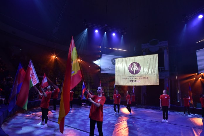 Губернатор Николай Любимов выступил на церемонии открытия IV Международного форума древних городов