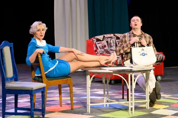 В Рязанском театре драмы приземлился «Боинг-Боинг» из Брянска