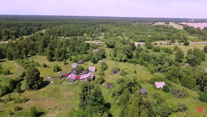 В сети появился ролик о заброшенной деревне в Рязанской области