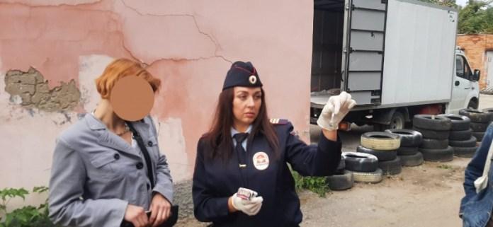 В центре Рязани задержали пританцовывавшую наркоманку