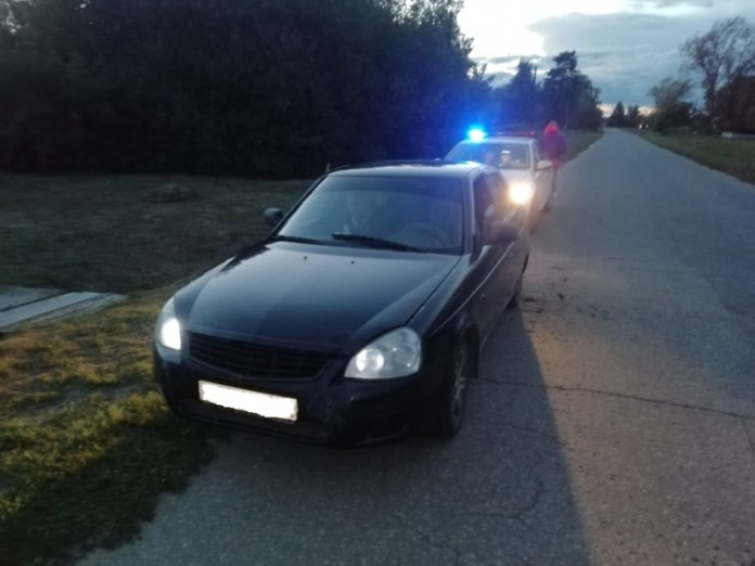 Полицейские поймали водителя Lada в Пителинском районе