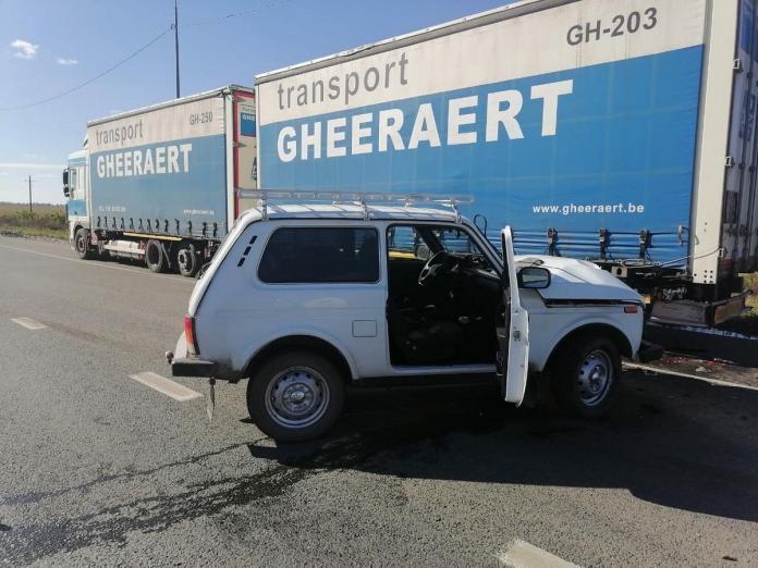 В ДТП с фурой в Шацком районе пострадала 80-летняя женщина
