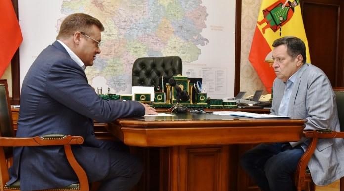 Депутат Госдумы от Рязанской области попросил Любимов ускорить строительство школы в Сасове