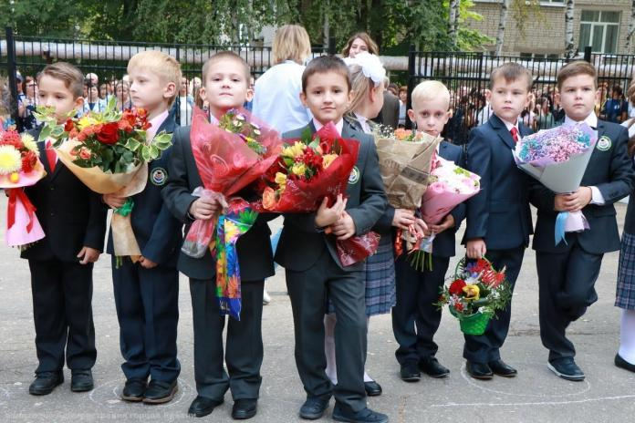 В первый класс в Рязани пошли около 7 тысяч детей