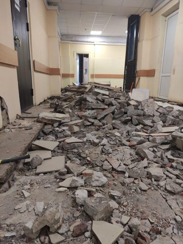 Рязанскую поликлинику №4 начали ремонтировать