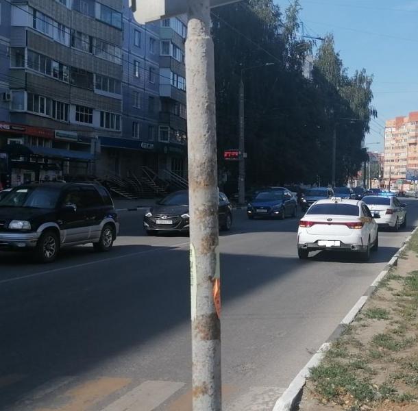 Kia Rio сбил пенсионерку на переходе на улице Интернациональной