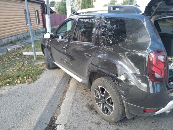 В Скопине скутерист попал в больницу после столкновения с машиной