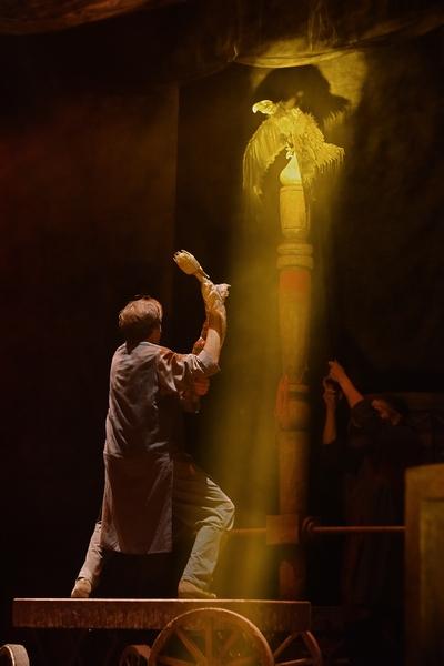 Театр кукол Образцова представил рязанскому зрителю «Сказку о царе Салтане»