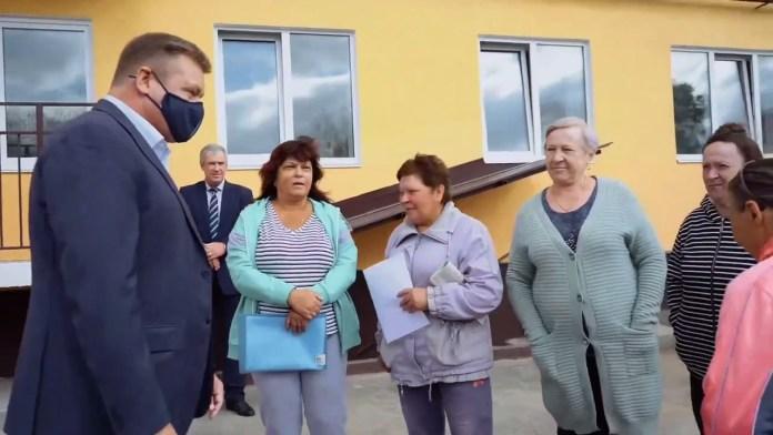 Губернатор пообещал жителям Скопина отремонтировать дорогу