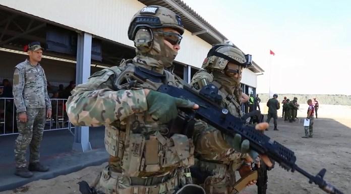 Сборная России стала победителем конкурса «Тактический стрелок» АрМИ-2021