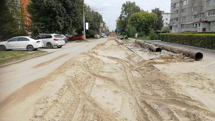 Перекрытую из-за ремонта теплотрассы улицу Татарскую будут открывать поэтапно