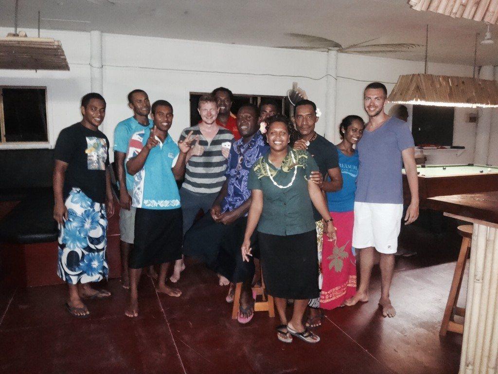 Fidschi Inseln Freundschaft