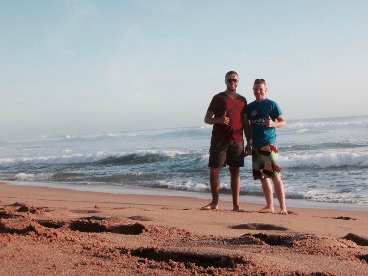reisen freunde australien strand