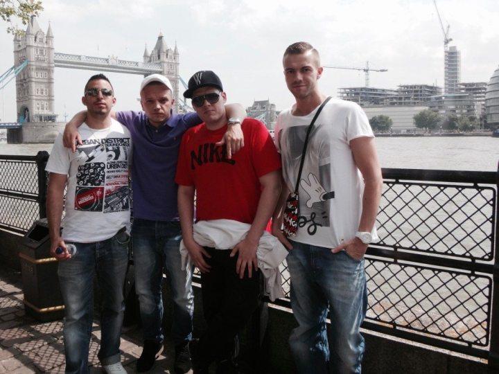 reisen mit freunden london