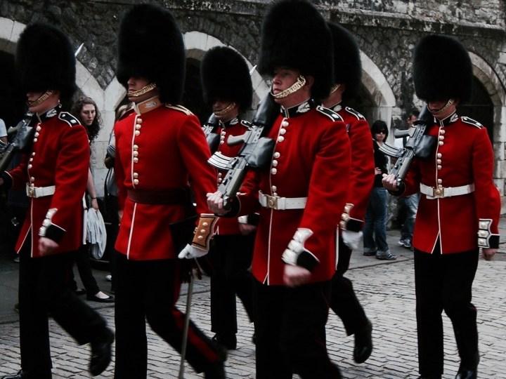 tower of london soldaten