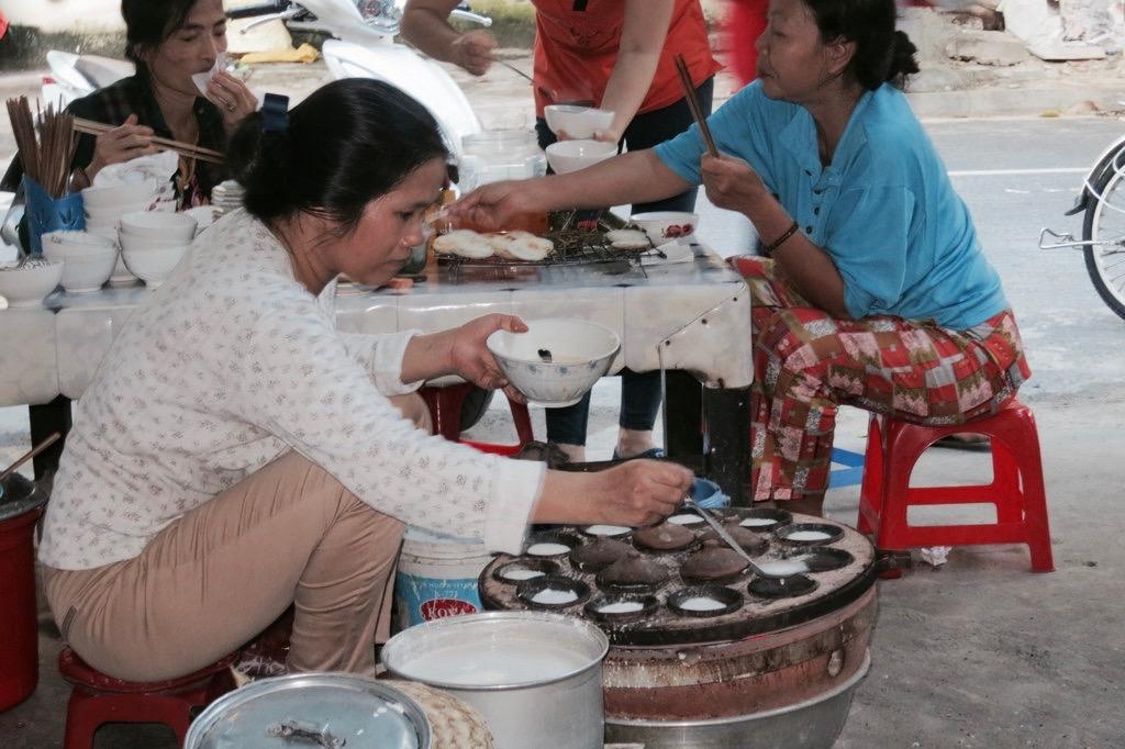 Asiatisches Streetfood