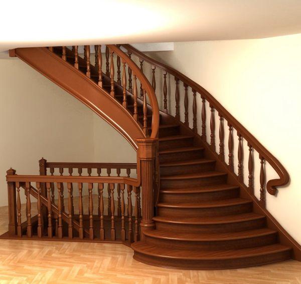 Фото: красивые лестницы для дома