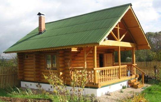 Бани с террасой в московской области: проекты для ...