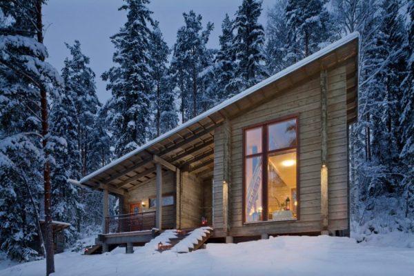 Двухэтажные дома из профилированного бруса в москве ...