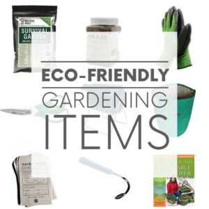 'Tis the season! For gardening that is. Here are nine eco-friendly garden items - from seeds to shears - that every green thumb needs.