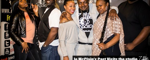 The Cast Of Je McClain's  newest stage play hits the airwaves