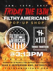 FILTHY AMERICANS POP UP