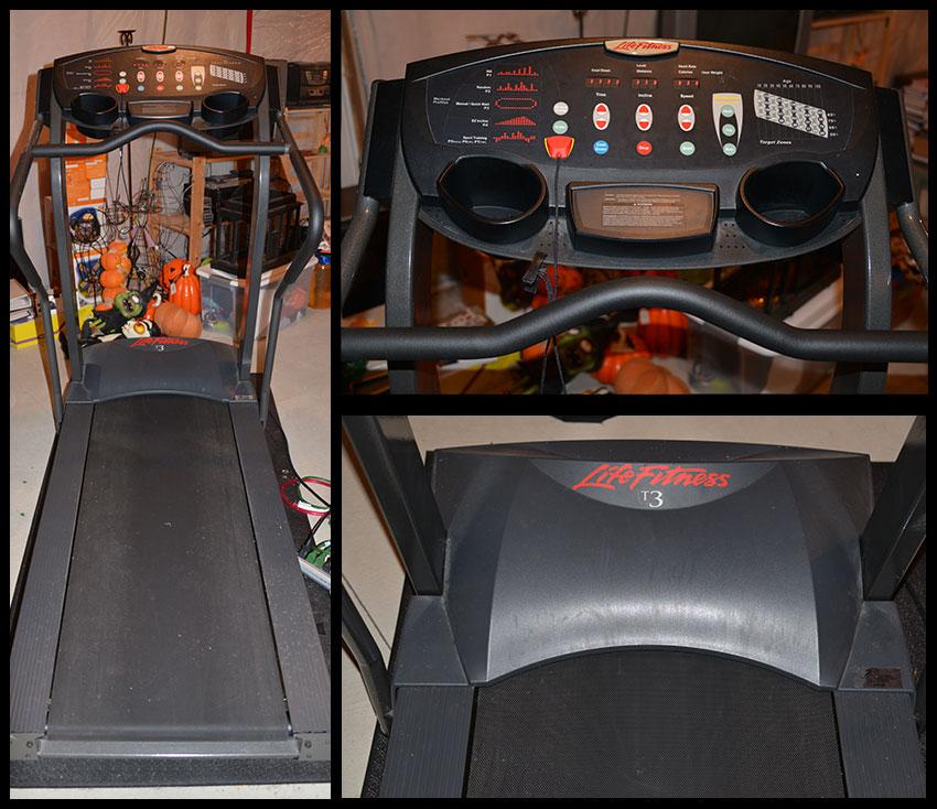 Life Fitness Treadmill Craigslist: Life Fitness T3 Treadmill For Sale