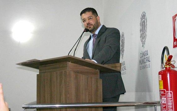 Leandro Ribeiro preside o Legislativo anapolino