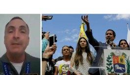 General da ativa declara apoio ao líder opositor Juan Guaidó