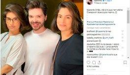 Renata Vasconcellos faz rara aparição ao lado da irmã gêmea e confunde fãs
