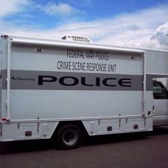 Crime Scene 16' van body