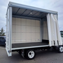 Curtain Side Truck Body (5)