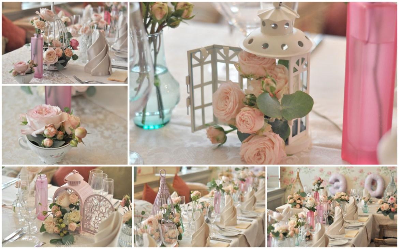 Свадьба в стиле шебби-шик, ресторан Сан-Жак Смоленск