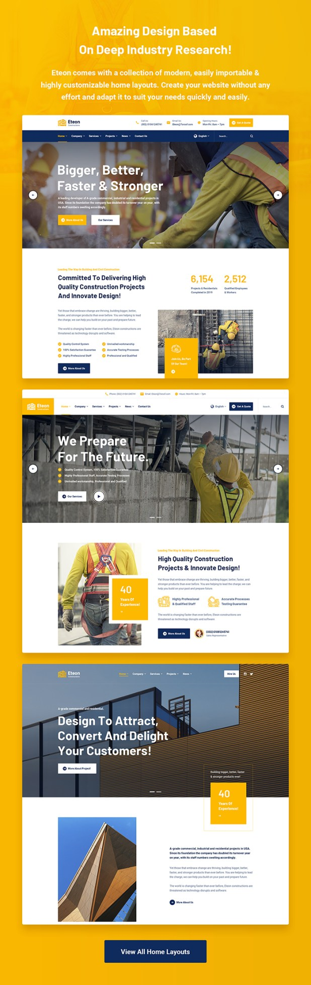 Eteon - Construction And Building WordPress Theme - 5