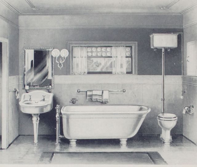 Historic Bathroom History Modern American Brooklyn
