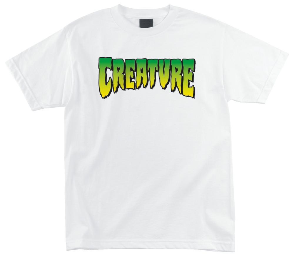Creature Logo T-Shirt - White