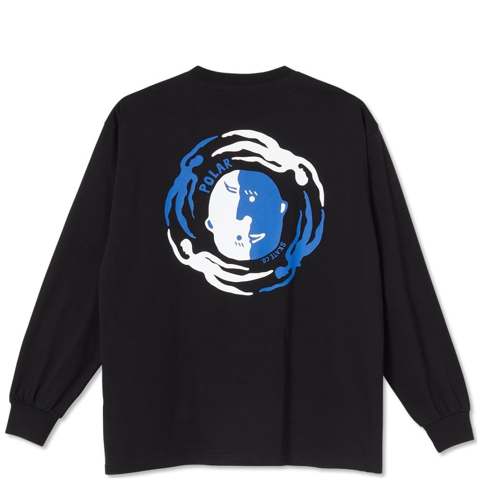 Polar Skate Co Circle Of Life Long Sleeve T-Shirt - Black