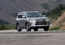 2021 Lexus LX Changes