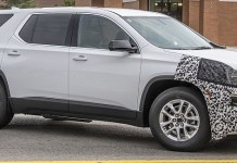 2021 Chevy Traverse refresh