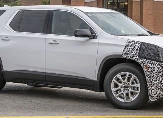 2021 Chevy Traverse refresh
