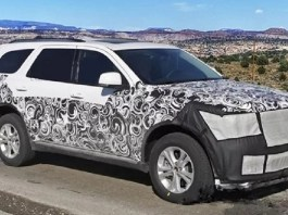 2021 Dodge Durango Spy shot