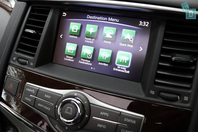 2021 Infiniti QX80 apple carplay