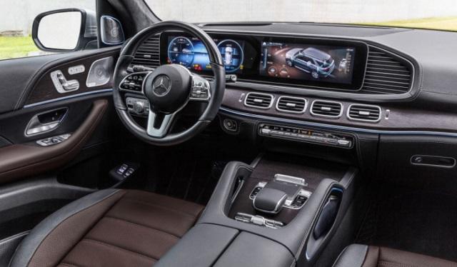 2021 Mercedes-Benz GLS Interior