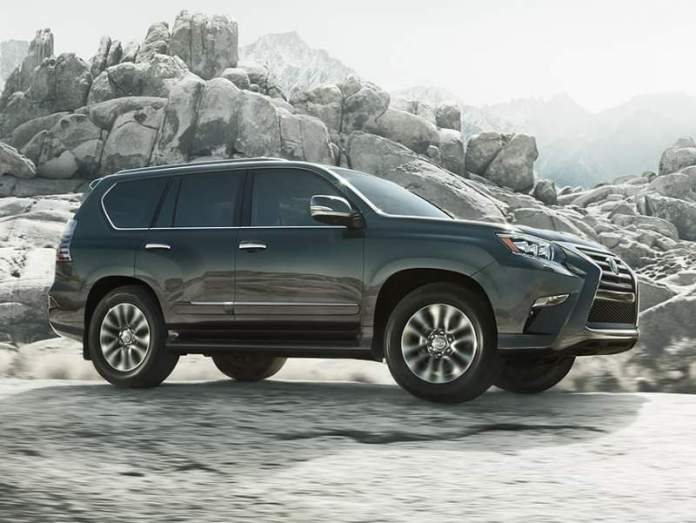 New Lexus GX - 7-seater SUV