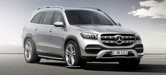 New Mercedes-Benz GLS - 7-seater SUV
