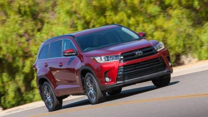 New Toyota Highlander - 7-seater SUV